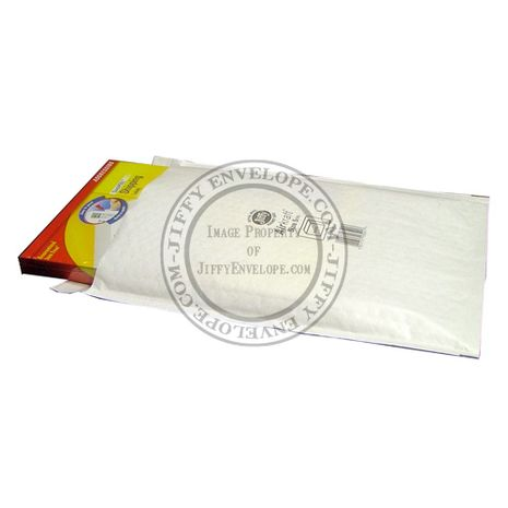 Jiffy Airkraft JL-5 White Bubble Lined Mailer Internal Size 265mm x 350mm