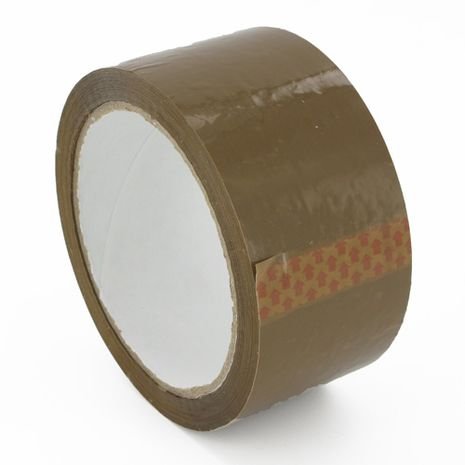 Kingscroft Logistics : Brown Hot Melt Polyprop Tape 48mm x 66m